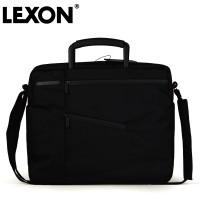 正品法国乐上LEXON防水超轻14寸单肩手提电脑公文商务包男-LN660