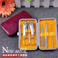 厂家批发6件套美容套修剪甲刀指甲钳指甲剪护甲化妆美甲套装