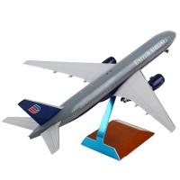 JC Wings 美国联合航空波音B777-200 1:200客机模型合金飞机摆件