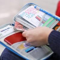 出国必备护照卡包旅游门票证件包旅行机票保护套 批发可定制LOGO