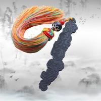 【佛手金身】黑檀木古典创意中国风套装木书签定制开学礼物