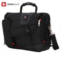 正品瑞士军刀笔记本包14寸15.6寸手提电脑包单肩包商务公文包包邮