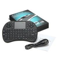 2.4G空中飞鼠迷你无线键盘air mouse 带触摸板多媒体键 logo定制