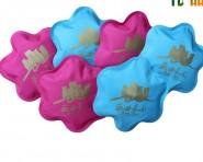专版订做 各种广告热水袋 定制充电热水袋 可加印金色logo