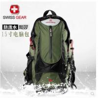 瑞士军刀户外登山包 双肩背包旅行包男女防水徒步旅游背包骑行包