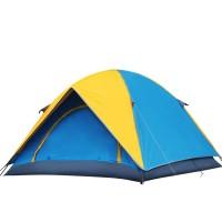 厂家直销防风雨双层帐篷 户外帐篷 双人野营帐篷广告帐篷印logo字