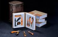 功能工具家用礼品套装-书坊18合1商务工具