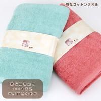 厂家直销全棉吸水浴巾外贸出口纯棉环保 精美浴巾礼品12色
