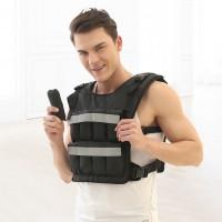 负重背心隐形薄款沙包绑腿沙袋可调负重装备运动跑步训练20磅