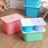 可叠加多功能收纳箱多种颜色尺寸支持订制LOGO图案