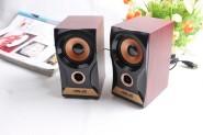 纯木质音响/音箱 2.0USB供电音响浑厚低音音箱