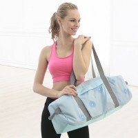 大容量瑜伽包中学生运动帆布男士女士可斜跨可单肩可手提
