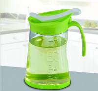 新款创意厨房用品 日用品礼品 定量玻璃油壶批发可印企业logo