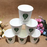 5盎司厂家直销批发一次性纸杯环保不渗透超值装可定制广告纸杯