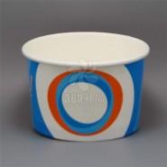 定做/批发200/300ML 一次性双PE雪糕杯/冰淇淋纸杯