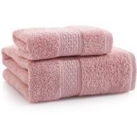浴巾 纯棉 加厚 1毛巾+1浴巾 套装 男女情侣 宾馆酒店 吸水浴巾