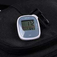 新款3D大屏幕电子计步器 多功能卡路里 老人健身运动