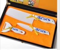 厂家直销优质 陶瓷刀 陶瓷刀三件套 套装 刀具 厨房 可加logo