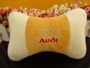 批发汽车用品车用颈枕骨头枕护颈枕汽车头枕可定制logo
