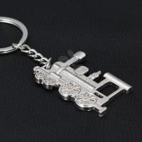 厂家创意小礼品男士火车头钥匙扣精美礼品批发可印制LOGO特价