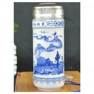 北京古都风光保温杯 商务礼品 陶瓷养生保温杯 批发印制logo