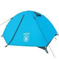 厂家直销双人双层铝杆帐篷户外帐篷野营帐篷广告帐篷定制logo