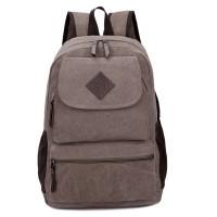 2016新款学院风双肩包中学生书包工厂定做加厚帆布包包定制logo