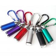 迷你 钥匙扣伸缩灯小巧手电筒 LED伸缩灯 钥匙扣 登山扣 可调节光