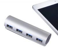 新款铝合金高速USB3.0HUB集线器 多口电脑通用USB分线器LOGO定制