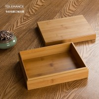 天地盖竹盒定做/吸铁石竹盒包装盒定制/logo来图定做/定做礼盒