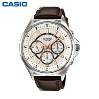 卡西欧 男表MTP-E303D/L商务休闲男士手表时尚防水石英表 新品