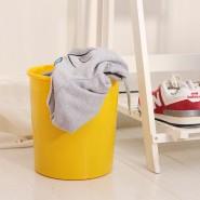 家居 塑料垃圾桶 纯色 个性 创意圆体垃圾桶 实用美观