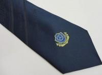 交通专用领带,涤丝领带 手打领带 标记LOGO领带 男士领带
