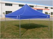 加固铝合金不锈钢广告折叠帐篷户外雨棚车棚遮阳篷展销摆摊帐篷伞