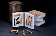 多功能工具家用礼品套装-书坊18合1商务工具