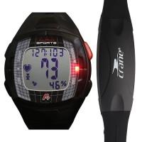 多功能 防水 卡路里 运动心率表 跑步系列有胸带 自行车骑行手表