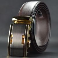 品牌皮带可加LOGO淘热卖款压花真皮腰带男士自动扣皮带QDF828