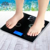 香山香山电子称脂肪称体重秤称重电子人体称EF981H脂肪体重秤
