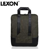 正品法国乐上LEXON男女14寸直立式手提肩背公文休闲包
