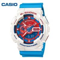 卡西欧G-SHOCK美国队长GA-110AC防水运动男表电子表