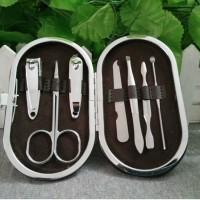 供应美甲套装7件美容套 修剪脚指甲刀指甲钳指甲剪 护甲化妆工具
