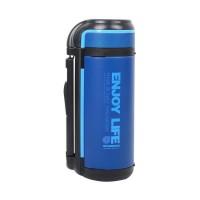 领路者保温壶1.5L大容量水瓶 户外自驾游长时保温随身水壶