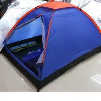 定制便携户外双人帐篷露营2人野营野外郊游沙滩礼品帐篷可印logo