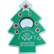 圣诞树塑料啤酒开瓶器 厂家直销批发简约实用啤酒起子 可定制logo