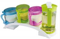 调味盒四件套带油壶 厨房家居用品 价格实惠厂家直销批发