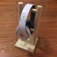 优质实木耳机支架展示架赛锐耳机挂钩耳麦挂架 量大定制logo