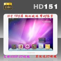 炫本15寸高清数码相框 HD151 支持1080P视频 4GB内存 钢化玻璃