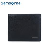 Samsonite/新秀丽86Q钱包 经典牛皮男士钱夹 商务多卡位横式钱夹