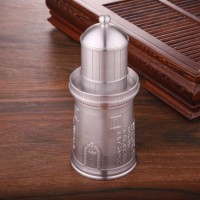 定制          灯塔造型纯锡密封极好的茶叶罐  旅游纪念品