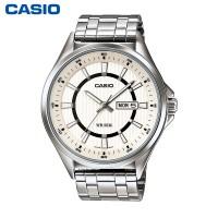 卡西欧 男表MTP-E108D/L商务休闲男士手表时尚防水石英表